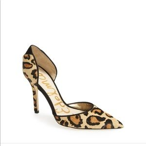 Sam Edelman Delilah Genuine Calf Hair Leopard Pump
